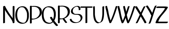 CF Cant Change The World Regular Font UPPERCASE