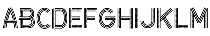CF Ceinture Flechee Regular Font UPPERCASE