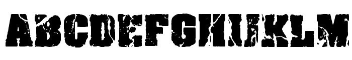 CF Crack and Bold Regular Font LOWERCASE