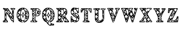 CF Deco 1492 Regular Font UPPERCASE