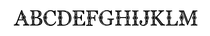 CF Diamond Regular Font LOWERCASE
