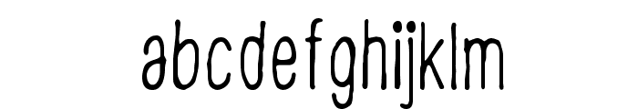 CF Disappointed Regular Font LOWERCASE