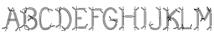 CF Dwarf Regular Font UPPERCASE