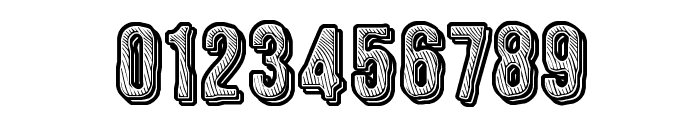 CF Engraved Regular Font OTHER CHARS