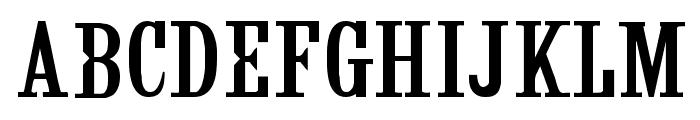 CF Fashion Regular Font UPPERCASE