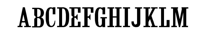 CF Fashion Regular Font LOWERCASE