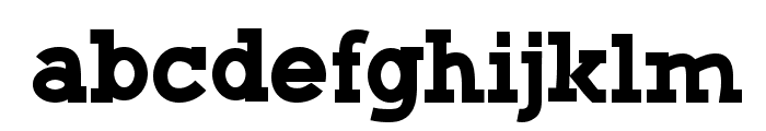CF Green Monster Regular Font LOWERCASE