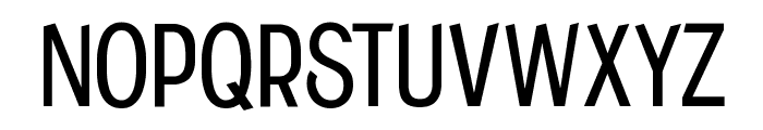 CF Historia Regular Font UPPERCASE