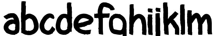 CF I Love Ugly Fonts Regular Font LOWERCASE