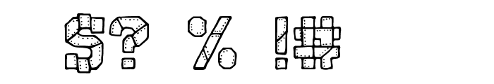CF I Robot Font OTHER CHARS