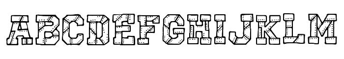 CF I Robot Font LOWERCASE