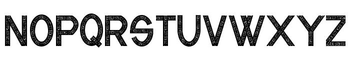 CF Industrial Fabrics Regular Font LOWERCASE