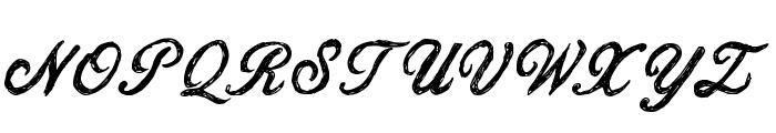 CF Jacques Cartier Regular Font UPPERCASE