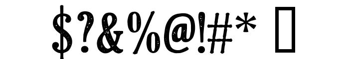 CF Klondike PERSONAL Regular Font OTHER CHARS