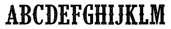CF Klondike PERSONAL Regular Font LOWERCASE