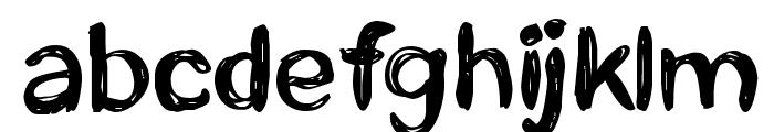 CF Life is beautiful Regular Font LOWERCASE