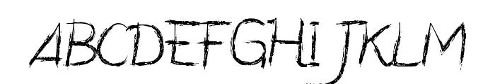 CF Manifesto Regular Font UPPERCASE