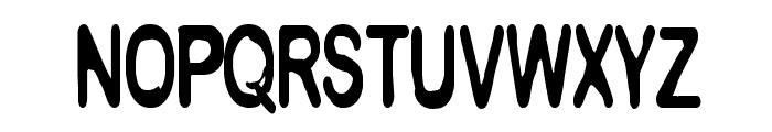 CF Metropolis Regular Font LOWERCASE