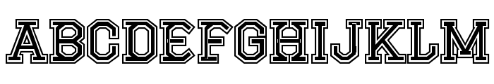 CF Montreal High School Regular Font LOWERCASE
