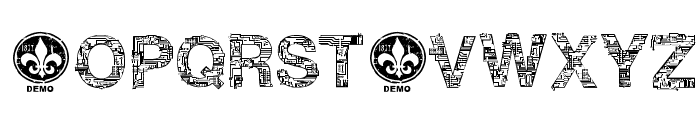 CF Motherboard DEMO Regular Font UPPERCASE