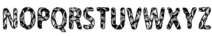 CF Never Trust A Hippy Regular Font UPPERCASE