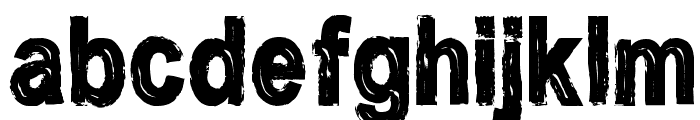 CF Nostalgia Regular Font LOWERCASE