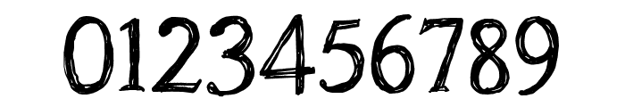 CF Oak Island PERSONEL Regular Font OTHER CHARS