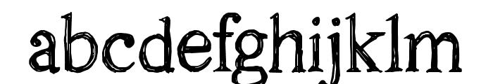 CF Oak Island PERSONEL Regular Font LOWERCASE