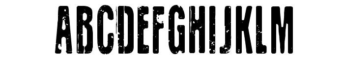 CF Old Lithography Regular Font UPPERCASE