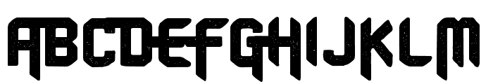 CF Old School PERSONAL USE Regular Font UPPERCASE