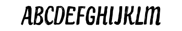 CF Paradise City Regular Font UPPERCASE