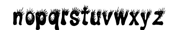 CF Punky Regular Font LOWERCASE