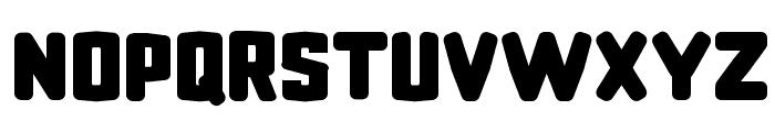 CF Revenge Regular Font UPPERCASE