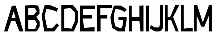 CF Rock Age Regular Font UPPERCASE