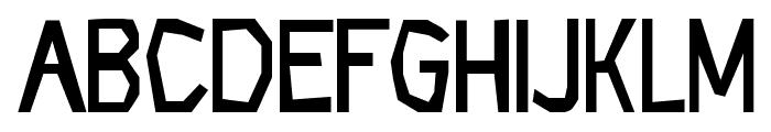 CF Rock Age Regular Font LOWERCASE