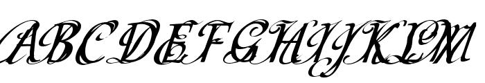 CF Schizophrenia Personal use Regular Font UPPERCASE