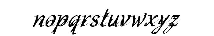 CF Schizophrenia Personal use Regular Font LOWERCASE