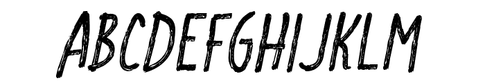 CF School Handwriting Regular Font UPPERCASE