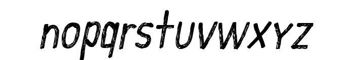 CF School Handwriting Regular Font LOWERCASE