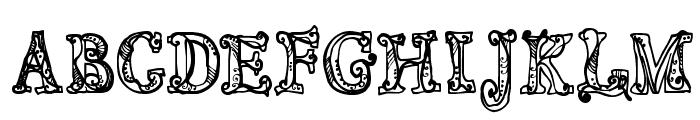 CF Sortilege Regular Font LOWERCASE