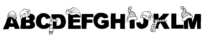 CF Tuques Regular Font UPPERCASE