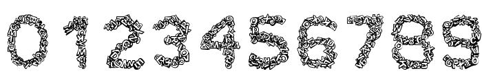 CF TypoCraft Regular Font OTHER CHARS