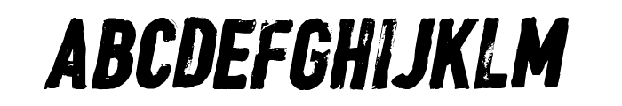 CF William Wallace Regular Font UPPERCASE