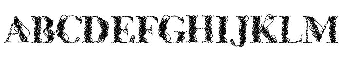 CF WireFrame Demo Regular Font UPPERCASE