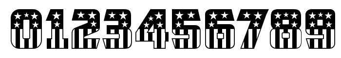 CFB1 American Patriot SOLID 2 Normal Font OTHER CHARS