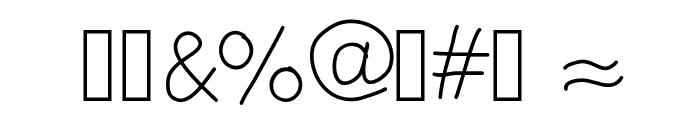 Cfun Font OTHER CHARS