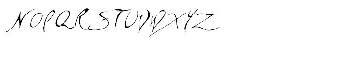 CF Sinclair Regular Font UPPERCASE
