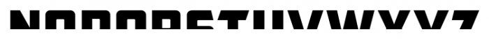 CFB1 American Patriot SPANGLE 1 Italic Font UPPERCASE