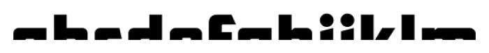 CFB1 American Patriot SPANGLE 1 Italic Font LOWERCASE