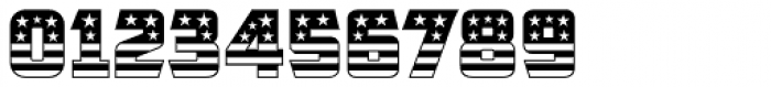CFB1 American Patriot SOLID 1 Normal Font OTHER CHARS